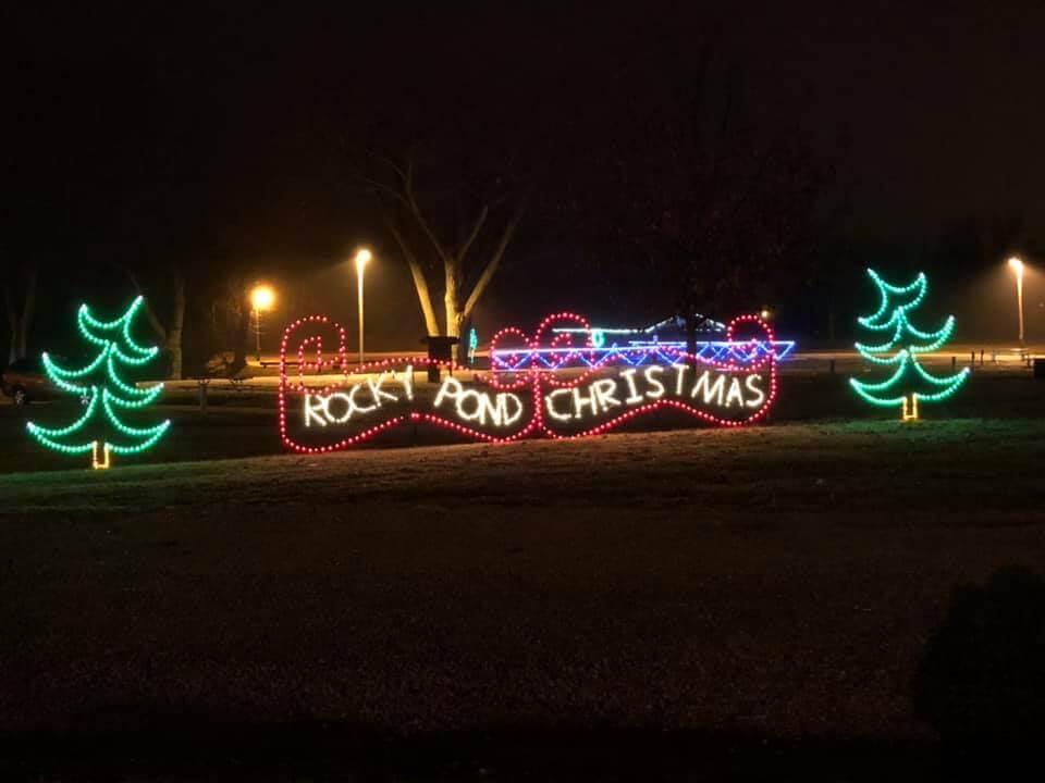Rocky Pond Christmas